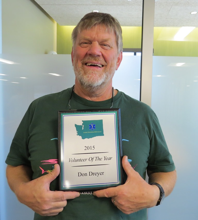 Don Dryer Volunteer EMT of the Year