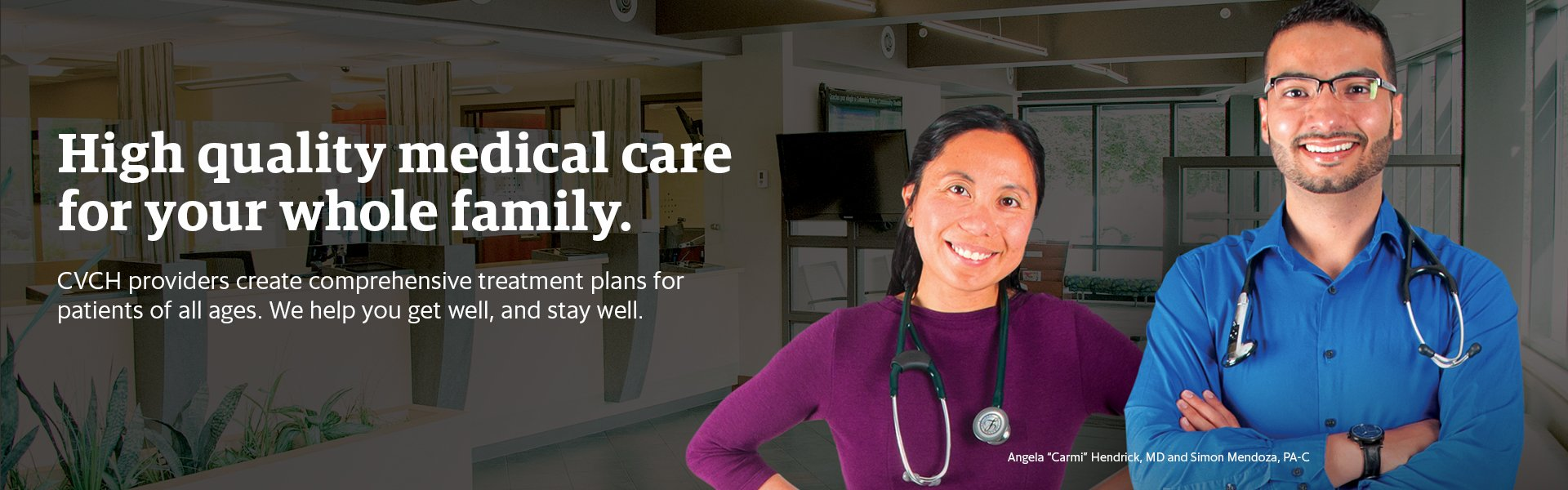 Family Medicine | Columbia Valley Community Health
